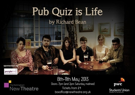 Pub Quiz is Life poster