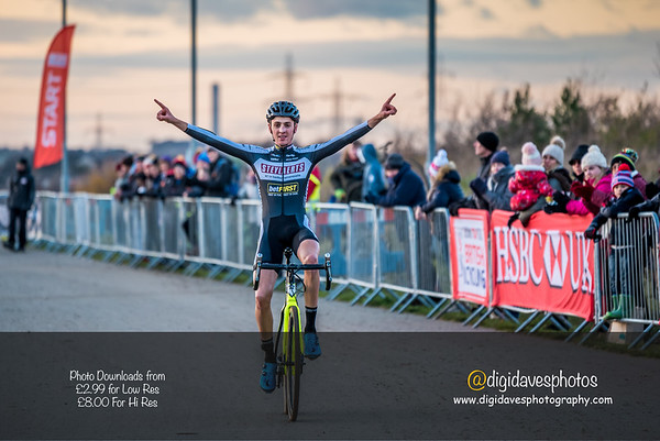 National Trophy Cyclocross Cyclopark  Juniors  -  Mens races