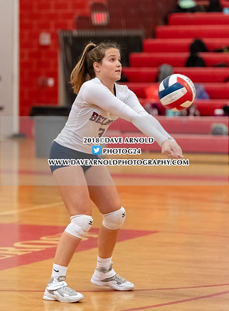 10/2/2018 - Girls Varsity Volleyball - Belmont vs Melrose
