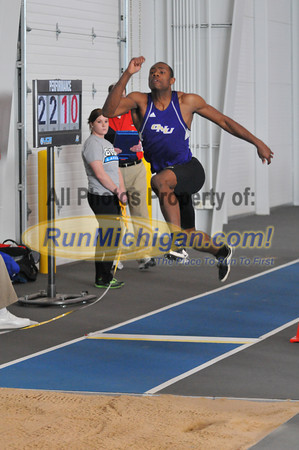 Men's Long Jump - 2013 GVSU Big Meet