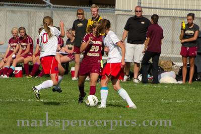 Soccer SV Girls vs Maple Mt 9-15-2011
