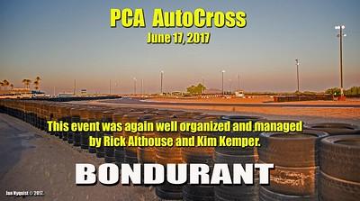 Autocross Bondurant Road Course - 6-17-17
