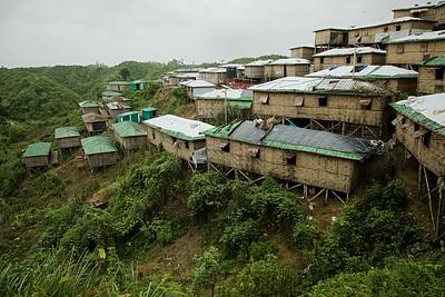UNICEF- Monsoon & Land Slide in Rohingya Refugee Camp-Cox's Bazar-Bangladesh-July-2019