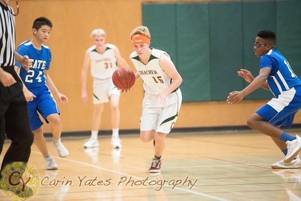1-12-18 Boys JV and Varsity Basketball