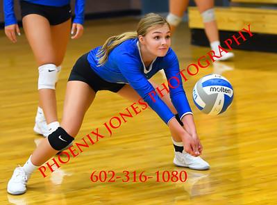 8-14-2020 - Dixie vs North Sanpete (Utah) - Varsity Volleyball Game