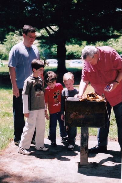2005-04 Josh, Noah, Adam with Seth and Grandpa Gerry.jpg