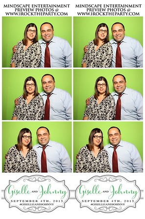 Johnny & Giselle's Wedding - Photo Booth Pictures