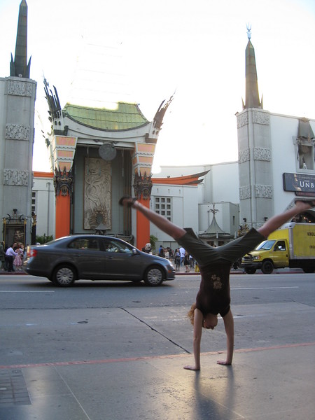 Stacee Calderon - Chinese Theater, Hollywood, California