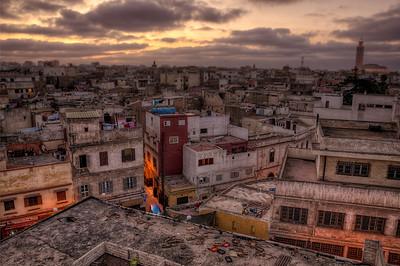 Sun Sets over Casablanca