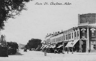 Early downtown Chadron, Nebraska