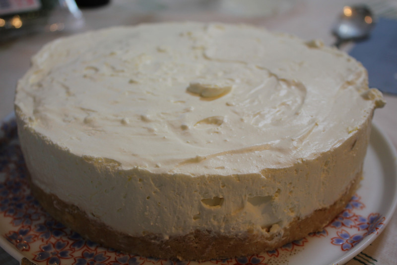 Cheese Cake Class March 7, 2013