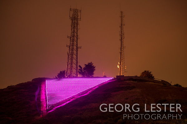 Pink Triangle Lighting