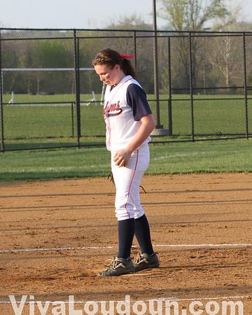 Softball: Potomac Falls vs. Briar Woods 4-6-10 (by Dan Sousa)