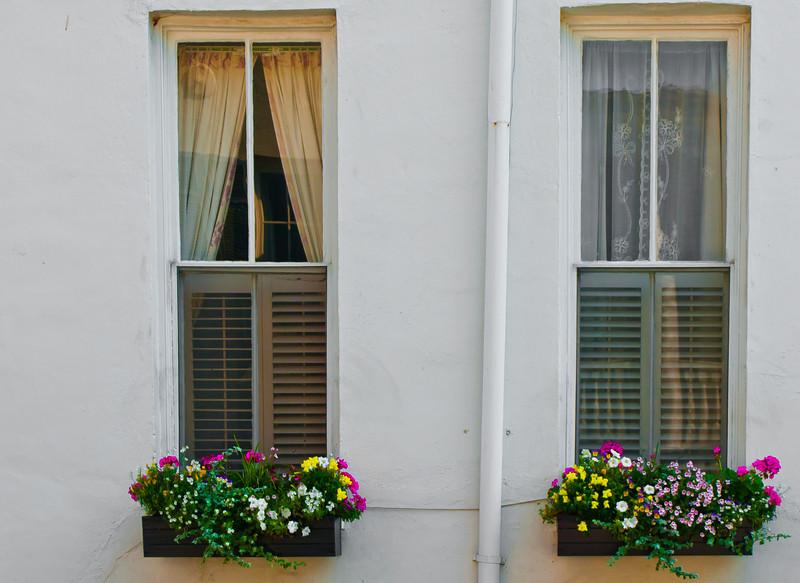 "' Side Windows ' Charleston, SC  12""x16"", Luster paper (12 mil)"