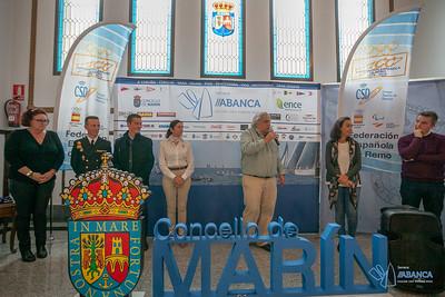 Reparto de premios -  Campeonato de España de Yolas de Mar