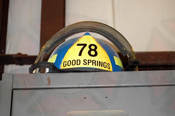 CCFD Station 78 Open House Goodsprings VFD