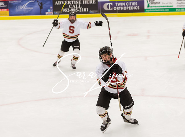 Lakeville South vs Lakeville North Bantam AA