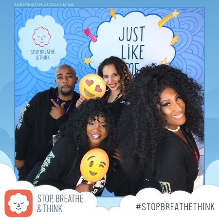 Stop Breathe Think GIF Booth