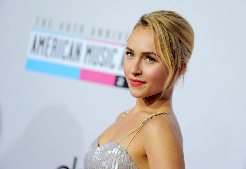 ". This Nov. 18, 2012 file photo shows actress Hayden Panettiere, star of the ABC series ""Nashville\"" at the 40th Anniversary American Music Awards in Los Angeles. Panettiere was nominated for best supporting actress in a series for television for her role on \""Nashville.\"" The 70th annual Golden Globe Awards will be held on Jan. 13. (Photo by Jordan Strauss/Invision/AP, file)"