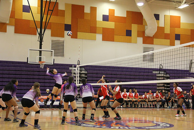 Eastlake Vs. Jefferson Volleball Game
