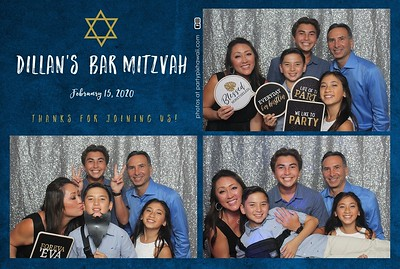 Dillan's Bar Mitzvah (Mini LED Photo Booth)