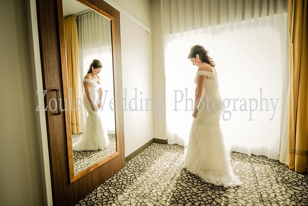 Julie & Mac Bride Getting Ready
