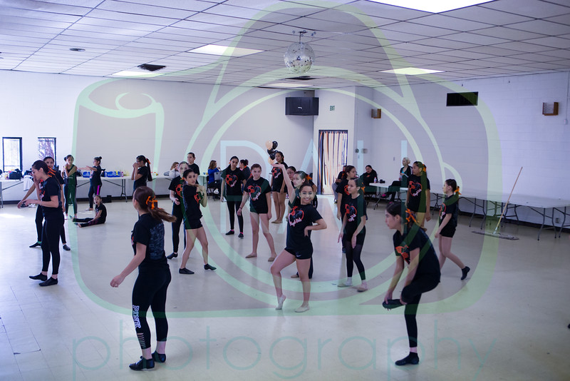 Bengal Girls Dance-a-thon 12-3-16