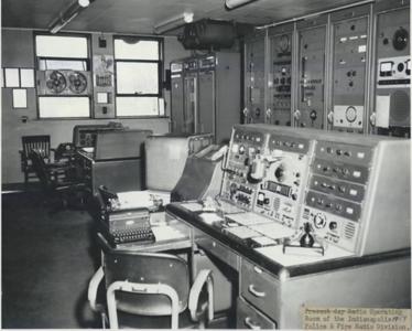 IPD Radio Room 1954