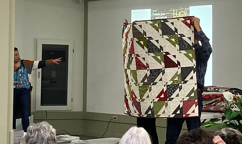 Gudrun Erla of GE Designs was our guest speaker October 2019