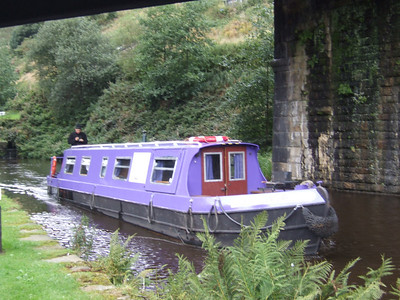 Scouts Narrowboat Summer Trip 2009