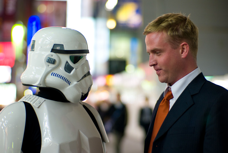 Storm Trooper vs Matthew Flannery