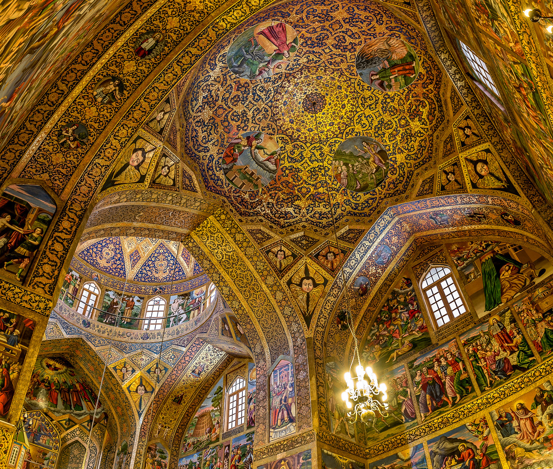 christian cathedral in isfahan