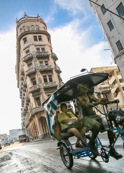 Havana Pedicab Ride