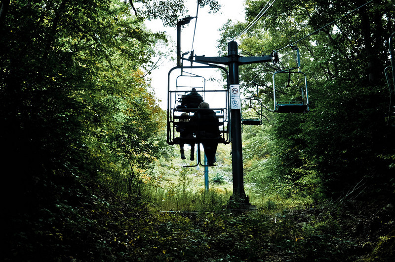 $2 chairlift rides at the Blue Hills Ski Area in Canton, Massachusetts on Columbus Day to see Fall Foliage and more.