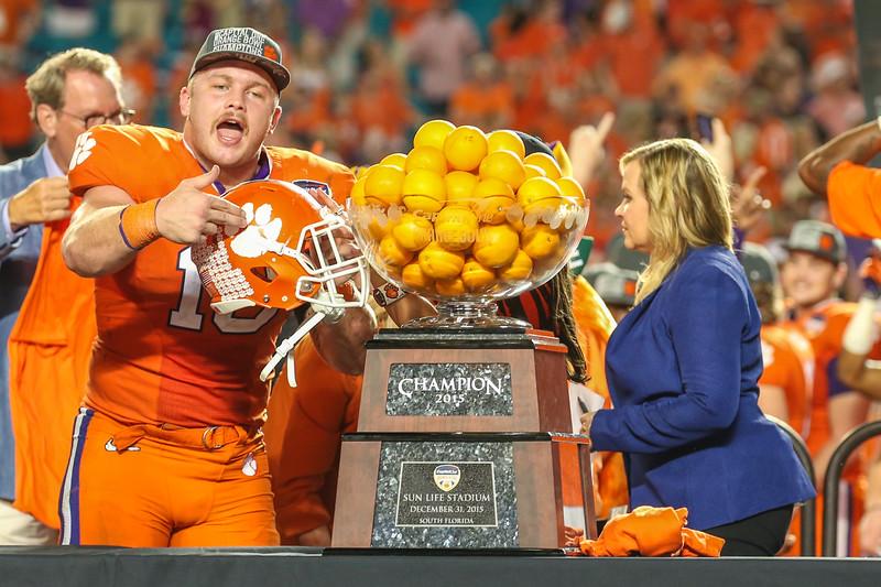 Capital One Orange Bowl, 2015.  Clemson University vs. Oklahoma State.