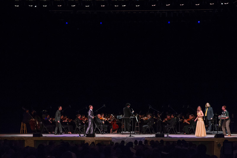 2016 Festival of the Arts BOCA presents Mozart's Magic Flute, Semi-staged performance in English with The Symphonia, Boca Raton & Constantine Kitsopoulos, Conductor