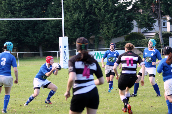 Womens AIL v Old Belvedere 12 Oct 2014