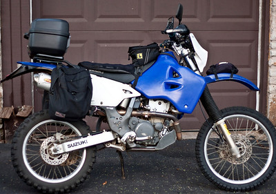 DR-Z400S Lightweight Adventure Tourer
