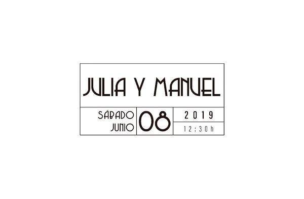 Julia & Manuel - 8 junio 2019