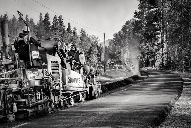 Paving - Teanaway Washington - 2015
