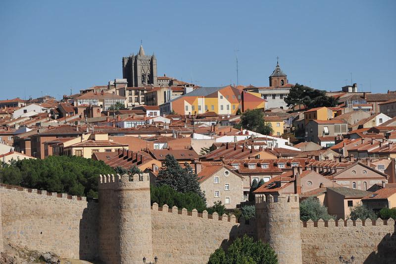 España, Ávila. World heritage city.