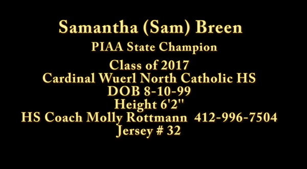 Sam Breen Basketball Highlights