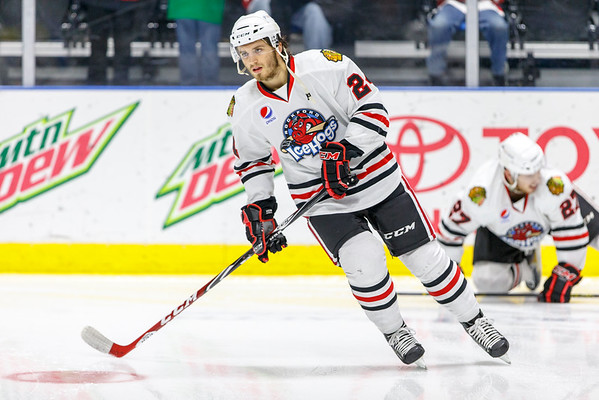 IceHogs vs Wolves 01-19-15
