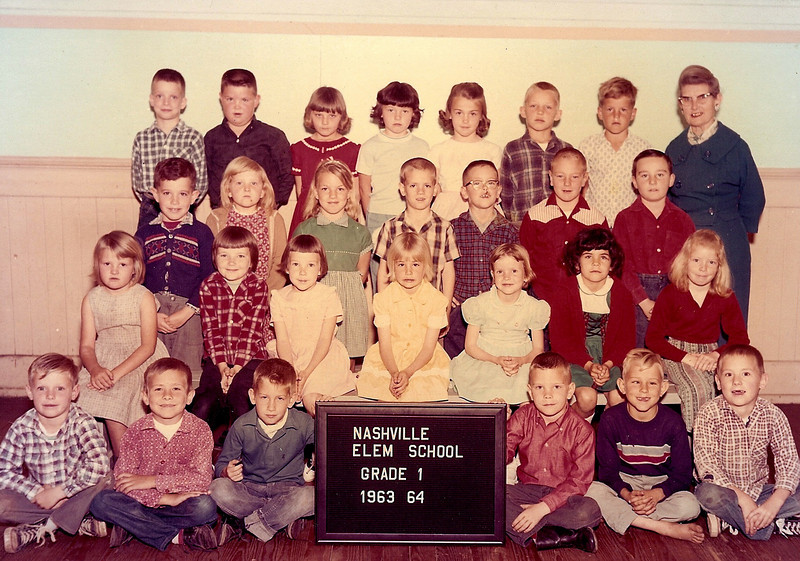 Nashville Elementary 1963-64_ Grade 1_Mrs Mallie Joiner Teacher.jpg