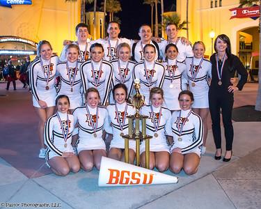 BGSU Cheerleaders - Nationals 1-18-2014