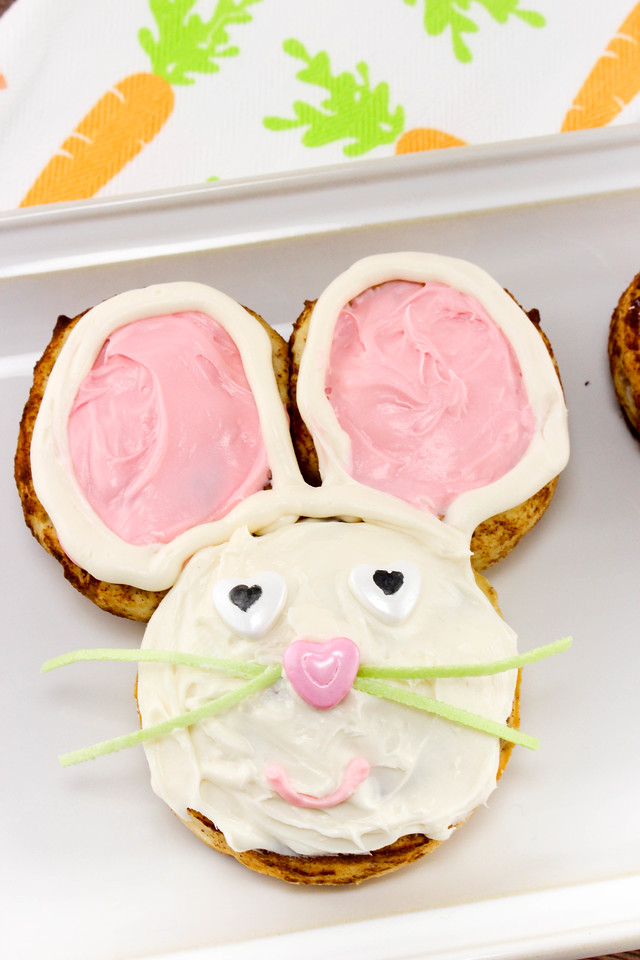 These #Easter Bunny Cinnamon Rolls are the PERFECT #recipe for your Easter breakfast, brunch, lunch, dinner, etc. This will delight everyone! Enjoy Easter!