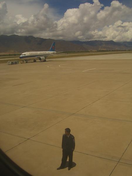 Lhasa Airport Guard - Kathmandu, Tibet