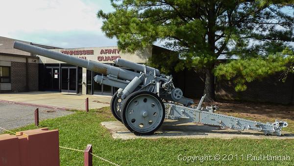 TNANG Armory - Memphis, TN - M109A5, M7B2 & 15cm sFH18