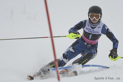 December 22th, 2012 - Slalom, Ladies CAN - QC - Mt-Gabriel