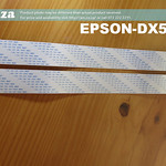 SKU: EPSON-DX5/C55, A Set of Two Extended  Length of 550mm Data Cable for EPSON Dx5 Printhead